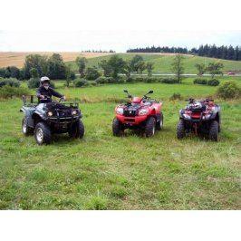 Zážitek - Dobrodružná jízda na čtyřkolce - Vysočina