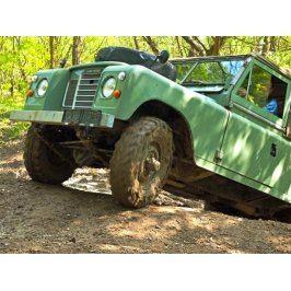Zážitek - Land Rover off-road - testovací trénink - Středočeský kraj
