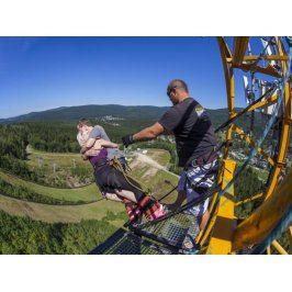 Zážitek - Bungee jumping z televizní věže - Liberecký kraj