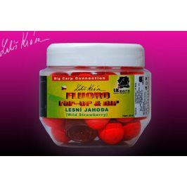 LK Baits Pop-up fluoro Wild Strawbery 14mm