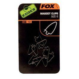 Fox Clip na červy Maggot Clips 10ks