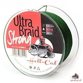 Hell-Cat Splétaná šňůra Ultra Braid Strong 0,60mm 200m