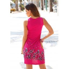 BEACHTIME Plážové šaty Beachtime jahodová 34