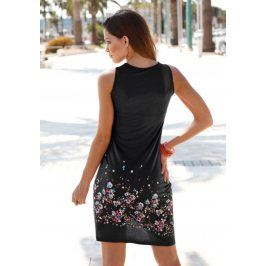 BEACHTIME Plážové šaty Beachtime černá 52
