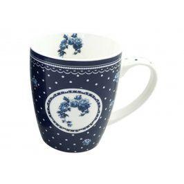 Trade Concept Modrý porcelánový hrnek Elegant Elegantní modrá 340 ml