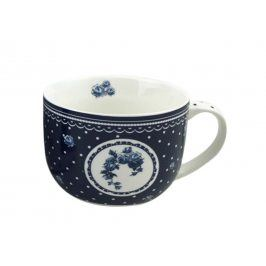 Trade Concept Velký modrý hrnek Elegant Elegantní modrá 500 ml