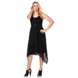 SHEEGO STYLE Letní šaty, sheego Style černá 48