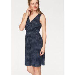 S.OLIVER RED LABEL Letní šaty, s.Oliver modrá se vzorem 42