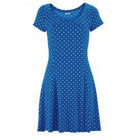 BEACHTIME Plážové šaty Beachtime královská modrá-bílé puntíky 36