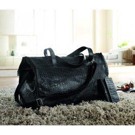 Maxi taška a peněženka černá