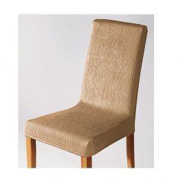 Venca Pružný potah na židli slonová kost