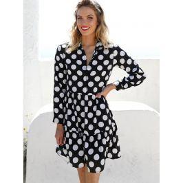 Venca Šaty s potiskem puntíků puntíky S