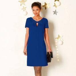 Blancheporte Šaty s krátkými rukávy tmavě modrá 38
