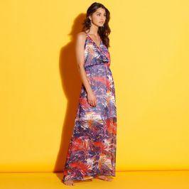 Blancheporte Dlouhé šaty s potiskem barevná 38