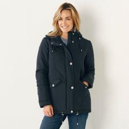 Blancheporte Parka s kapucí modrá 38