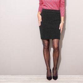 Blancheporte Pletená sukně černá 34/36