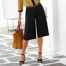 Blancheporte Dlouhá kalhotová sukně černá 38