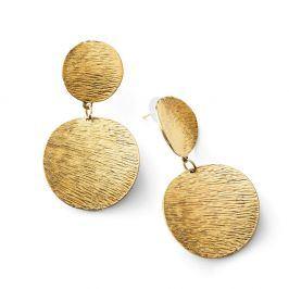 Blancheporte Náušnice s kováním zlatá TU
