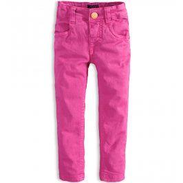 Dívčí barevné džíny  MINOTI PETAL světle růžové Velikost: 92-98
