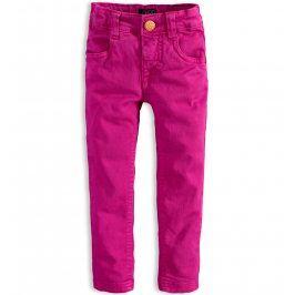 Kojenecké barevné džíny MINOTI PETAL tmavě růžové Velikost: 80-86