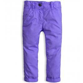 Kojenecké zateplené kalhoty DIRKJE SNOWFLAKE fialové Velikost: 56