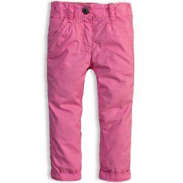 Kojenecké zateplené kalhoty DIRKJE SNOWFLAKE růžové Velikost: 80