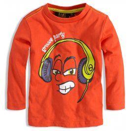 Chlapecké triko KNOT SO BAD PARTY oranžové Velikost: 92