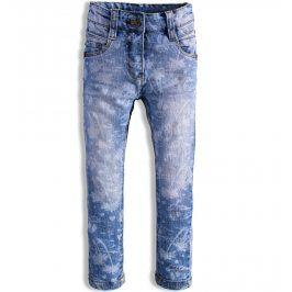 Dívčí džíny KNOT SO BAD TROPICAL vzorované modré Velikost: 92