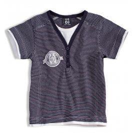 Chlapecké tričko DIRKJE ROYAL modré proužky Velikost: 104