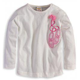 Dětské triko DIRKJE BALET bílé Velikost: 80