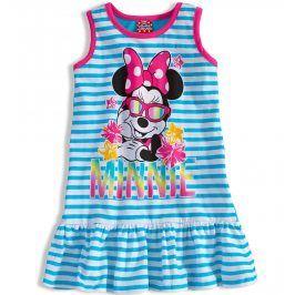 Dívčí šaty Disney MINNIE tyrkysové Velikost: 104