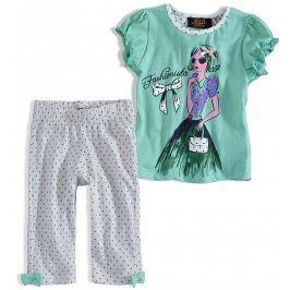 Dívčí pyžamo KNOT SO BAD HOLČIČKA tyrkysové Velikost: 92