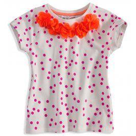 Tričko s krátkým rukávem MINOTI KYTIČKY oranžové Velikost: 98-104