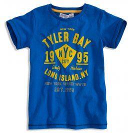 Chlapecké tričko MINOTI TYLER modré Velikost: 134-140