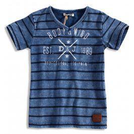 Chlapecké tričko DIRKJE BODY MIND modré Velikost: 140