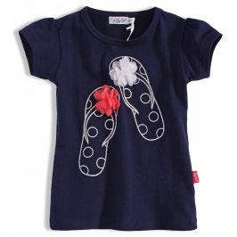Dětské tričko DIRKJE ŽABKY tmavě modré Velikost: 86