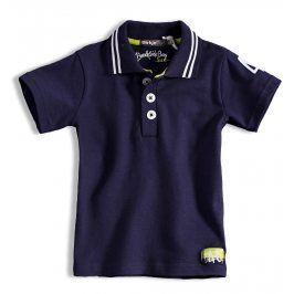 Chlapecké tričko polo DIRKJE CHAMPION tmavě modré Velikost: 110