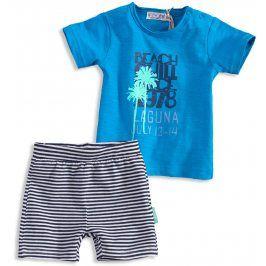 Dětská letní souprava DIRKJE BEACH modrá Velikost: 68
