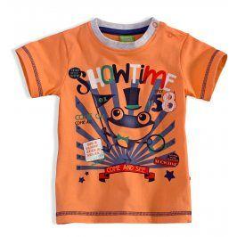 Dětské tričko PEBBLESTONE ŽABÁK oranžové Velikost: 68