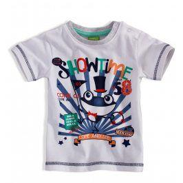 Dětské tričko PEBBLESTONE ŽABÁK bílé Velikost: 68