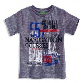 Chlapecké tričko s potiskem KNOT SO BAD SAILOR modré číslo Velikost: 92