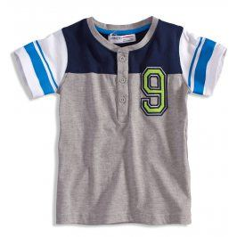 Chlapecké tričko Minoti GREEN šedé Velikost: 92