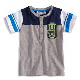 Dětské tričko Minoti GREEN šedé Velikost: 80