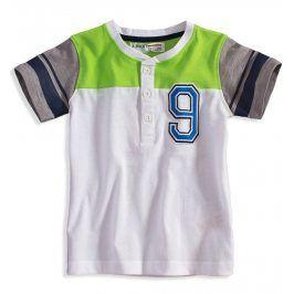 Chlapecké tričko Minoti GREEN bílé Velikost: 92