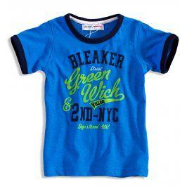 Dětské tričko s krátkým rukávem  MINOTI GREEN modré Velikost: 80
