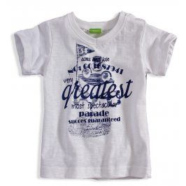 Kojenecké tričko PEBBLESTONE GREATEST bílé Velikost: 68