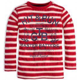 Chlapecké triko KNOT SO BAD RUN červené Velikost: 122-128