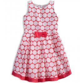 Dívčí šaty KNOT SO BAD DOTS růžové Velikost: 92