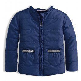 Dívčí bunda KNOT SO BAD FRILL modrá Velikost: 92
