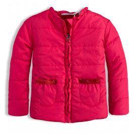 Dívčí bunda KNOT SO BAD FRILL růžová Velikost: 92